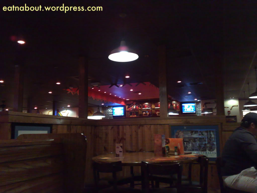 The outback steakhouse eat n about