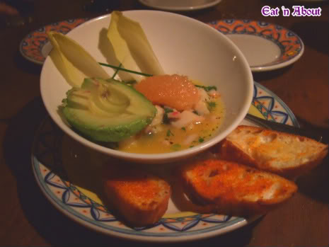 Cafe Sevilla: ceviche