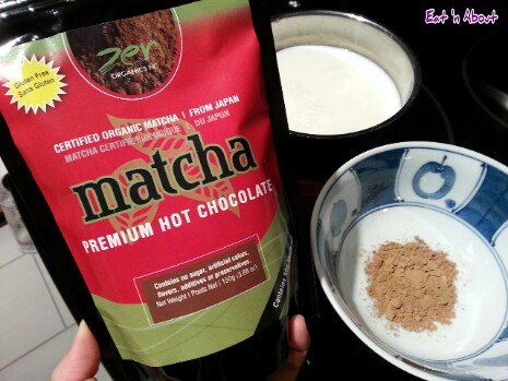 Zen Organics Matcha Hot Chocolate