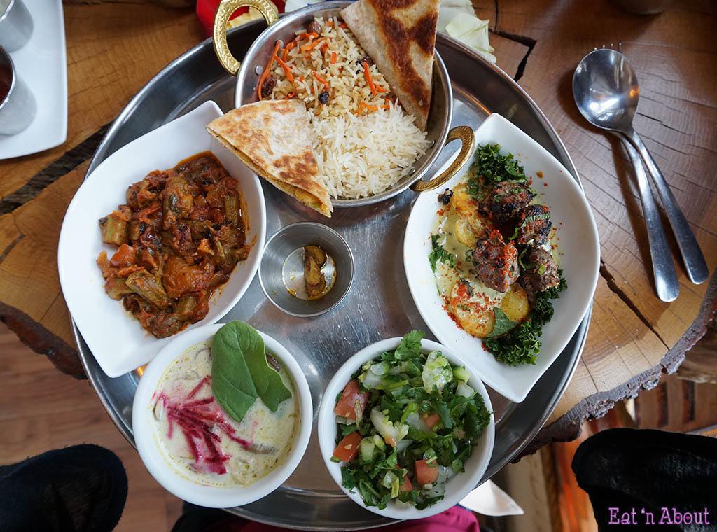 East is East Chai Feast platter