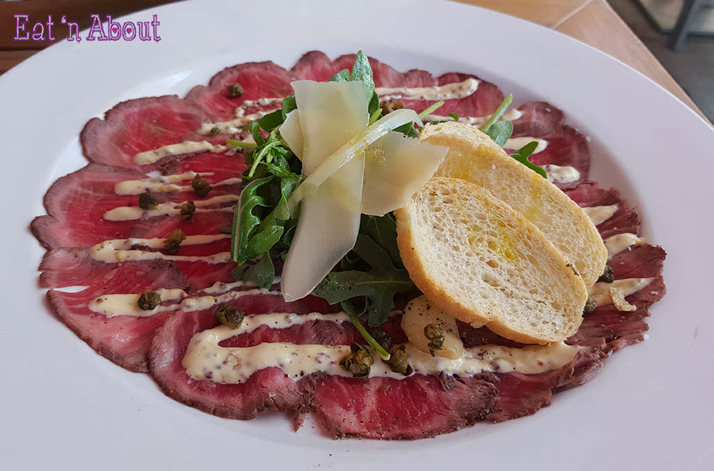 The Flying Pig - Beef Carpaccio