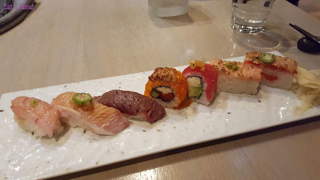 Miku Signature Sushi