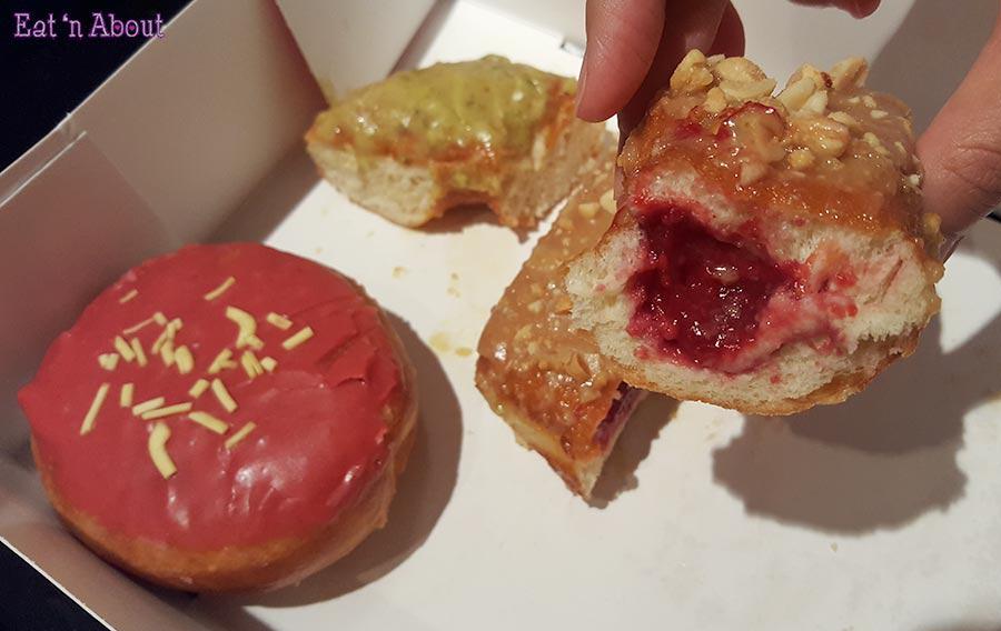 Lucky's Doughnuts - Peanut Butter & Jelly Doughnut